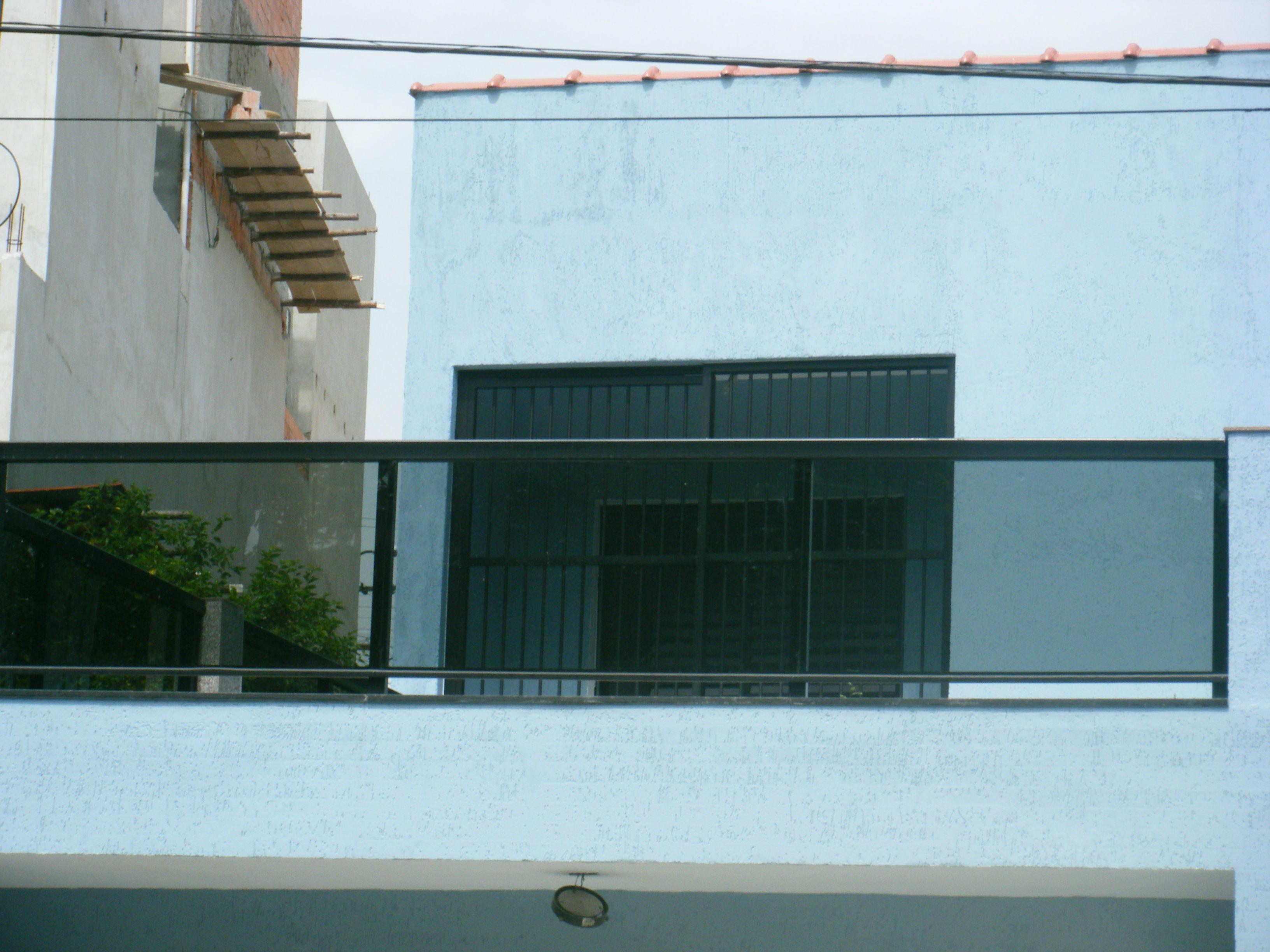 #3B7690 Sacadas De Vidro Verde Ou Fumê R 240 0 Topvidros Pictures to pin on  390 Janelas De Vidro Verde Ou Transparente